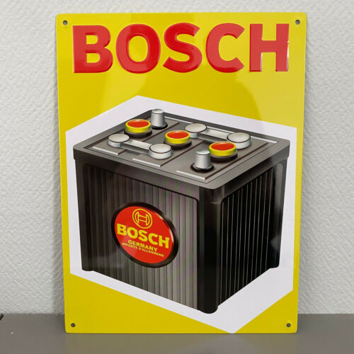 BOSCH metal sign french car vintage automobile 2509211