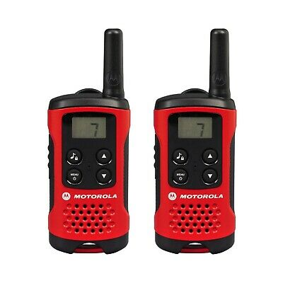 U Motorola TLKR T40 Walkie Talkie 2 Way PMR 446 Compact Radio Twin Set