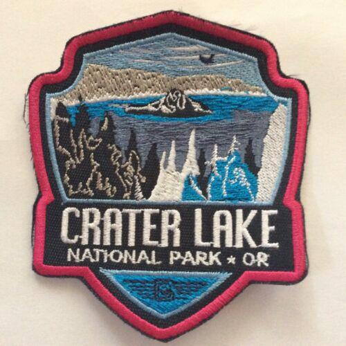 Patch Crater Lake National Park - Oregon - Lynx - Bobcat - Puma - Deer - Beaver