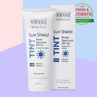 Obagi Sun Shield Tint Broad Spectrum Spf 50 Cool 3 0 Oz 85 G  Sealed Fresh