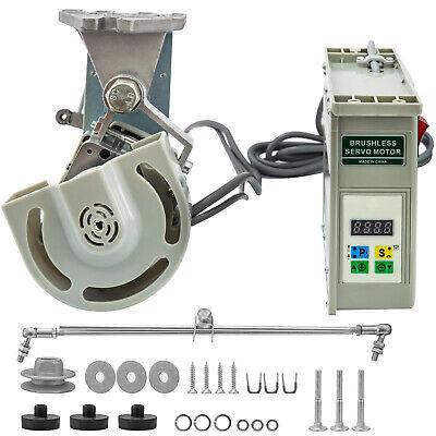 Sewing Machine Electric Servo Motor Adjustable Speed 110 Volt 750 Watt 1 Hp