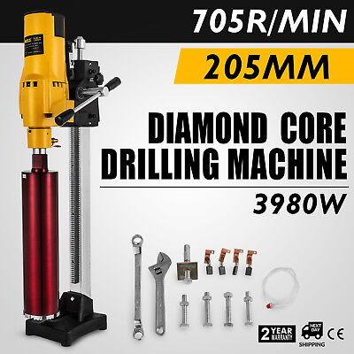 New Diamond Concrete Core Drill Machine Vertical Stand Press Drilling