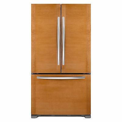 "ثلاجة جديد KitchenAid KFCO22EVBL 36"" Custom Panel French Door Refrigerator NEW Daily Deal!"