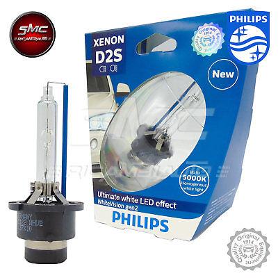 D2S Philips WhiteVision gen2 Xenon Brenner Ultimate LED effect 35W 5000K 85122