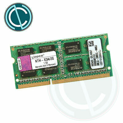 MEMORIA RAM KINGSTON 2GB KTH-X3A/2G DDR3 PC3 8500S 800 MHZ SODIMM MACBOOK LAPTOP segunda mano  Embacar hacia Mexico