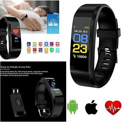 Smart Watch Bracelet Fitness Activity Tracker Heart Rate Monitor Blood Pressure