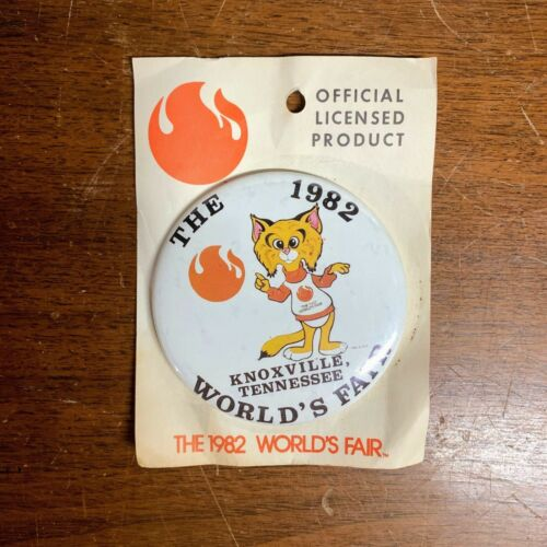 Vintage 1982 Worlds Fair Knoxville Tennessee Souvenir Pin