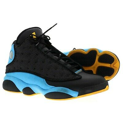 Nike Air Jordan 13 Retro CP Pe Schwarz Sunstone Orion Blau 823902-015 ()