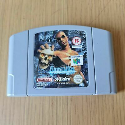 SHADOW MAN NINTENDO 64 N64 PAL GAME UNBOXED CART ONLY FREE P&P