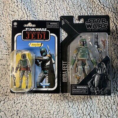 "Star Wars Vintage Collection 3.75"" Action Figure - VC186 Boba Fett Black Series"