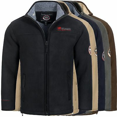 Geographical Norway ULMAIRE Herren Fleece Jacke Fleecejacke warm Teddyfellfutter ()