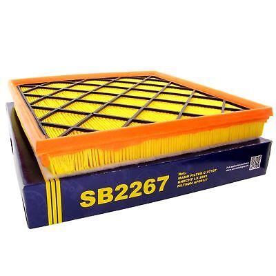 SCT Luftfilter Fahrzeugfilter SB2267 Motorfilter Servicefilter Ersatzfilter