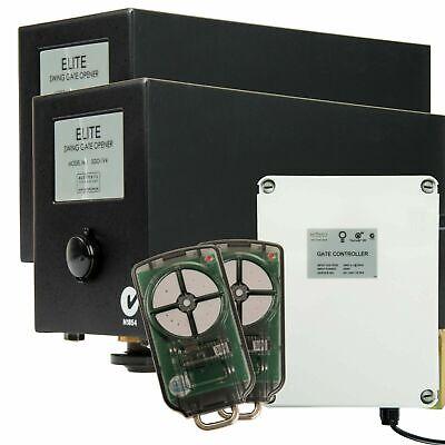 ATA SGO1v4 Abridor de puerta abatible Kit eléctrico automático doble...