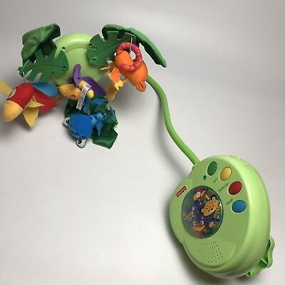 Fisher Price Rainforest Peek A Boo Leaves Musical Mobile Beethoven Baby