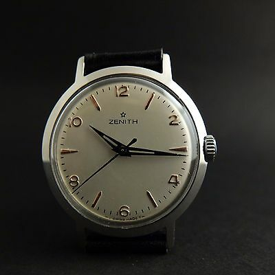 Vintage Zenith Mechanical Watch Cal.106-50-6 from 1960s