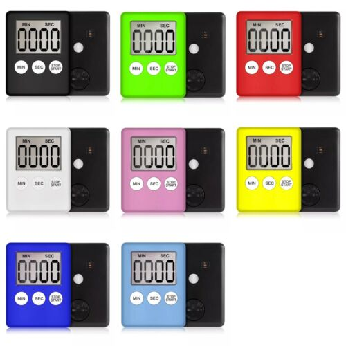 magnetic lcd digital timer clear loud alarm