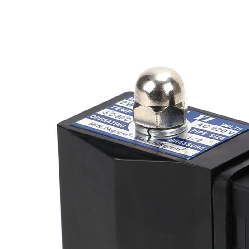"Magnetventil Messing NC 3//8/"" 24V DC 0-10 bar Viton"