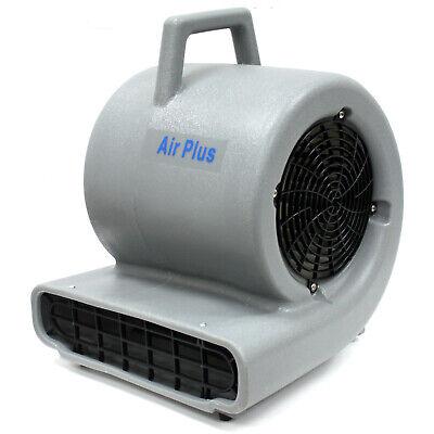 3 Speed 1900cfm Air Mover Wet Carpet Water Dryer Floor Blower Fan Janitorial 1hp