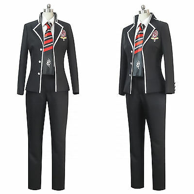 Ao Halloween (Halloween Ao no Blue Exorcist Okumura Rin School Uniform Cosplay Costume)