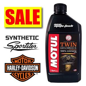 ★ SALE ★ Motul V-Twin SPORTSTER Chaincase ★ 100% FULL SYNTHETIC