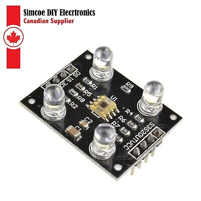 Tcs230 Tcs3200 Color Recognition Sensor Detector Module For Mcu Arduino 982