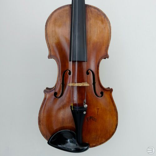 """G. Christian Adam - 1883 Berlin"" 4/4 Antique German Violin - Brown varnish"