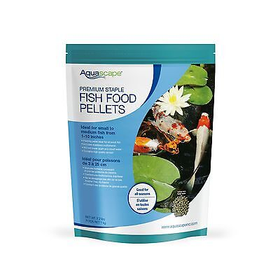 Aquascape Premium Staple Fish Food Pellets 2.2 lb 98868