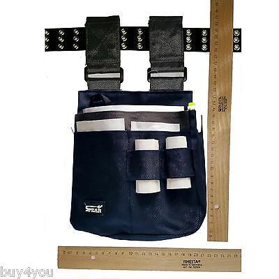 5x Bolsa Herramientas de Trabajo Eléctrico Funda Riñonera Cinturón