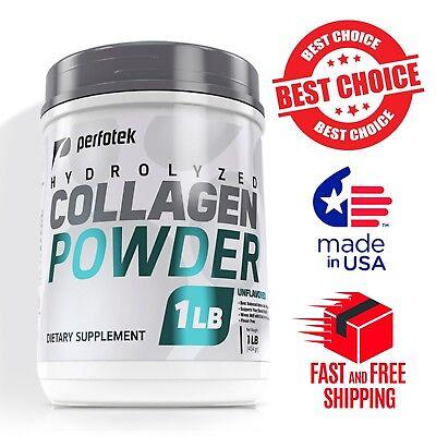 ? Premium Collagen Peptides 16 oz Hydrolyzed Anti-Aging Protein Powder Kosher