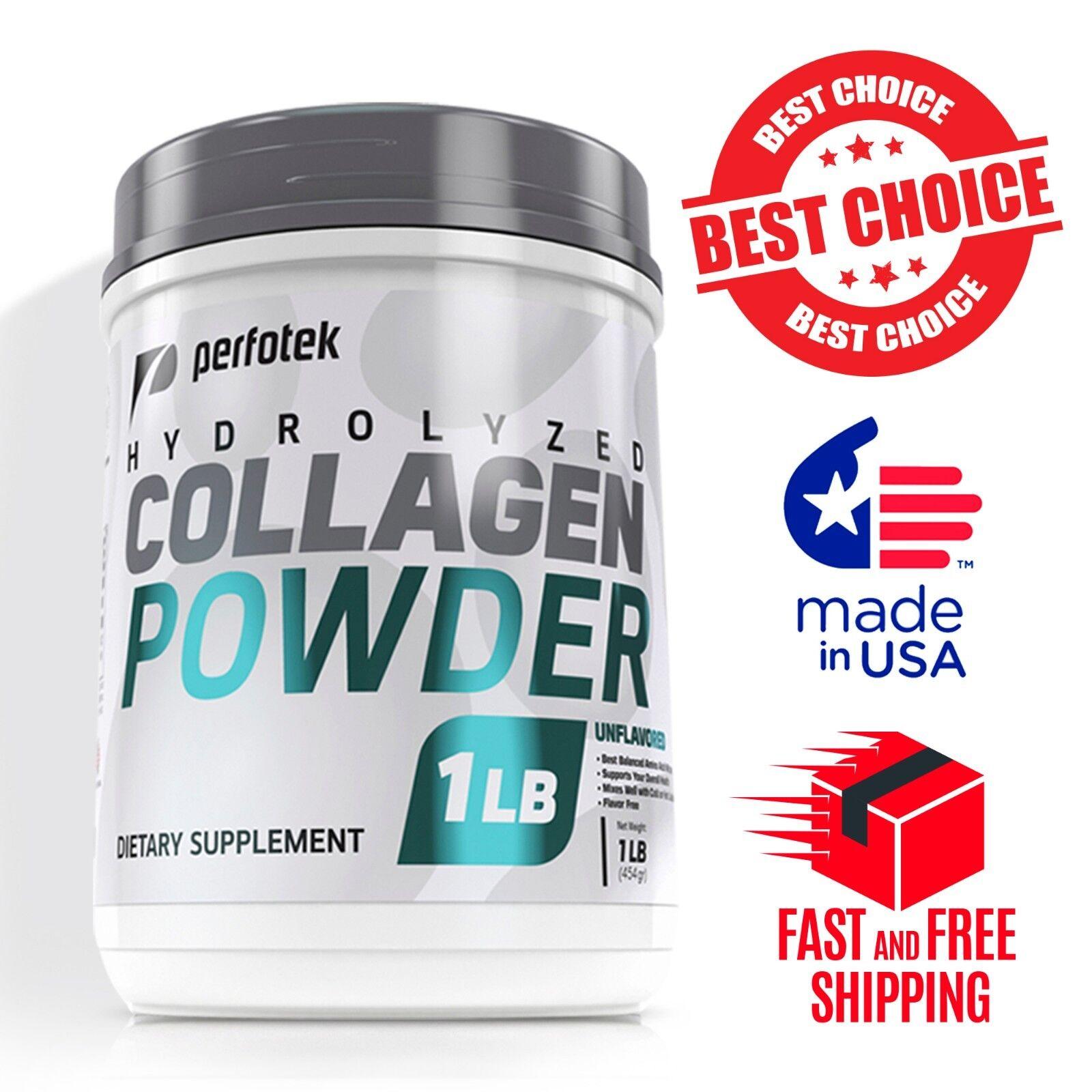 ▶ Premium Collagen Peptides 16 oz Hydrolyzed Anti-Aging Pr