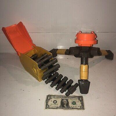 NERF VULCAN Replacement Parts Lot EBF-25 Ammo Belt Chain, Box, Tripod! N-Strike