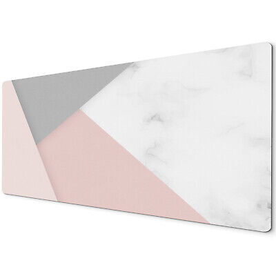 60 X 30cm Extra Large Xl Desk Mouse Pad Mat Gaming Grey White Pink