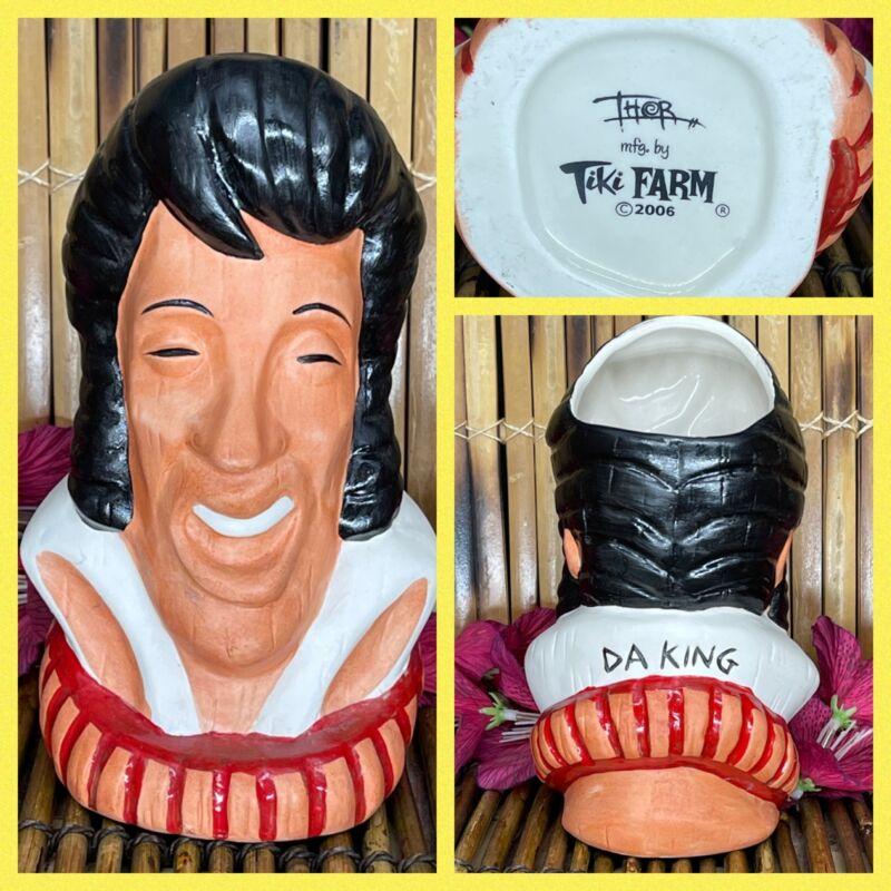 Elvis Presley Da King Tiki Farm Tiki Mug Hawaiian Idols 2006 Designed By Thor