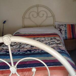 Cast Iron Enamelled Single Beds (2) New Farm Brisbane North East Preview