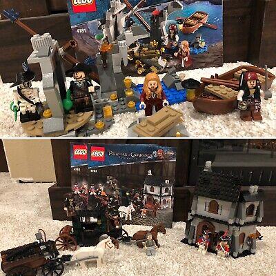 LEGO Pirates Of The Caribbean Sets 4193- London Escape & 4181-Isla De La Muerta