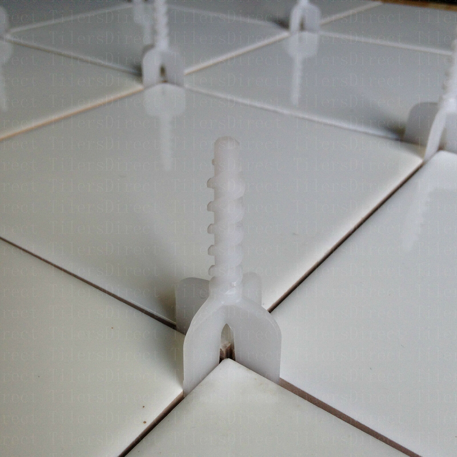 50 Caps+150 Spacers Tile Leveling System Cross Spacer ...