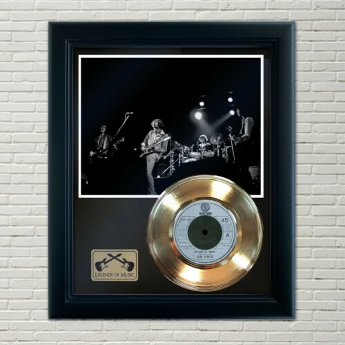 "Dire Straits ""Sultans Of Swing"" Framed 45 Gold Record Display"
