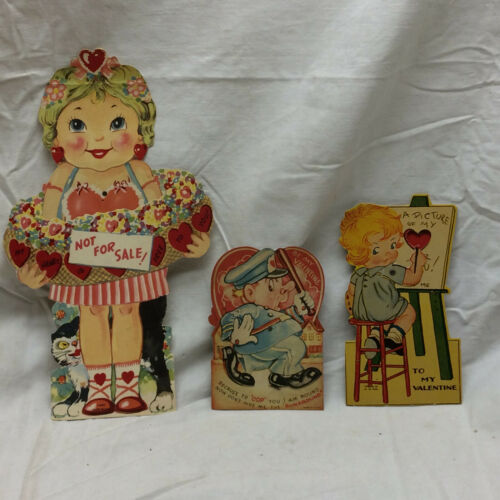 3 Vintage Valentine