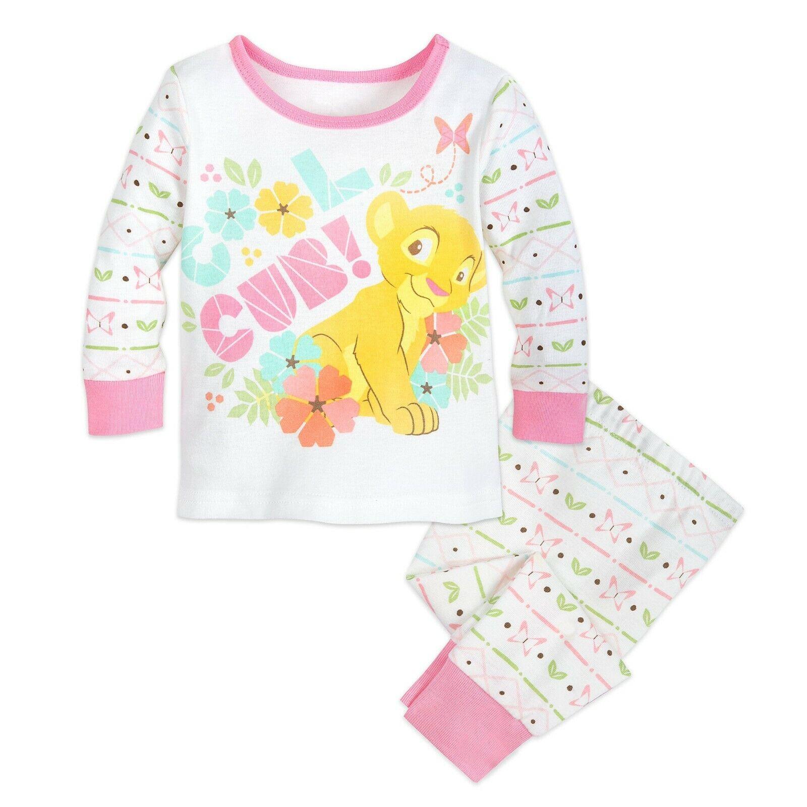 Disney Authentic The Lion King Nala PJ PALS Pajamas Baby 0 3