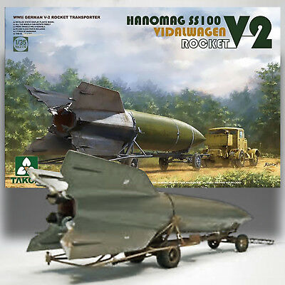 Used, TAKOM 1/35 V-2 ROCKET W/ HANOMAG SS100 HEAVY WHEELED TRACTOR/TRAILER KIT 2110 for sale  Shipping to Canada