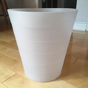 IKEA FNISS 3L Trash Can (New) - clear (discontinued colour)