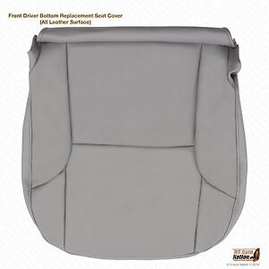 2004 2005 2006 Toyota 4Runner Driver Bottom replacement Leather Seat Cover Gray
