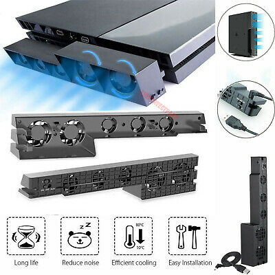 Cool Games For (Fan For PS4/Pro Game Accessories Play Station 4 Host Cooling Fan Cooler)