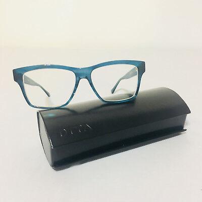 7e906d108b8b DITA Elan Sequoia RARE Blue Oversized Frame Hipster Designer Rx Glasses NWOT
