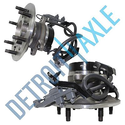 - (2) Front Wheel Bearing & Hub for 2004-2008 Chevy Colorado GMC Canyon 2WD