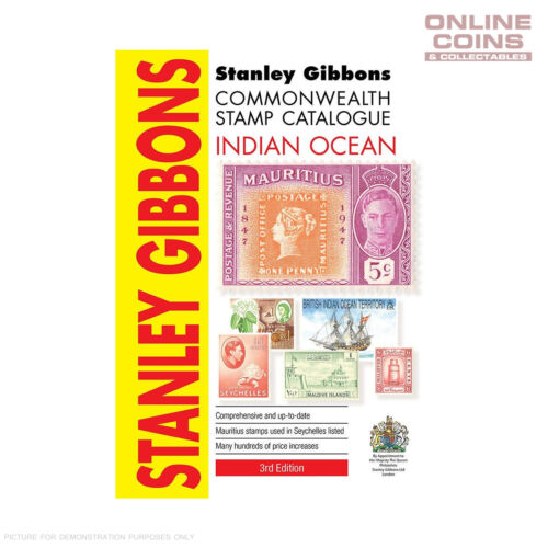 Stanley Gibbons Indian Ocean Stamp Catalogue 3rd Edition Soft Cover Book