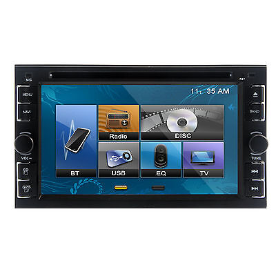 """2Din 6.2"""" Car DVD CD MP3 Player HD Touch In Dash Stereo Bluetooth Ipod TV Radio on Rummage"""