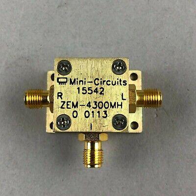 Mini-circuits Zem-4300mh Coaxial Frequency Mixer 300-4300 Mhz Smaf