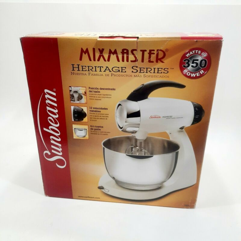 Sunbeam Mixmaster Heritage Series Mixer 2350,  Bowl Beaters