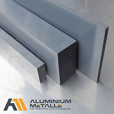Stärke 20mm grau RAL 7011 PVC-U Kunststoff Plastik flach  (Plastik Platte Platten)